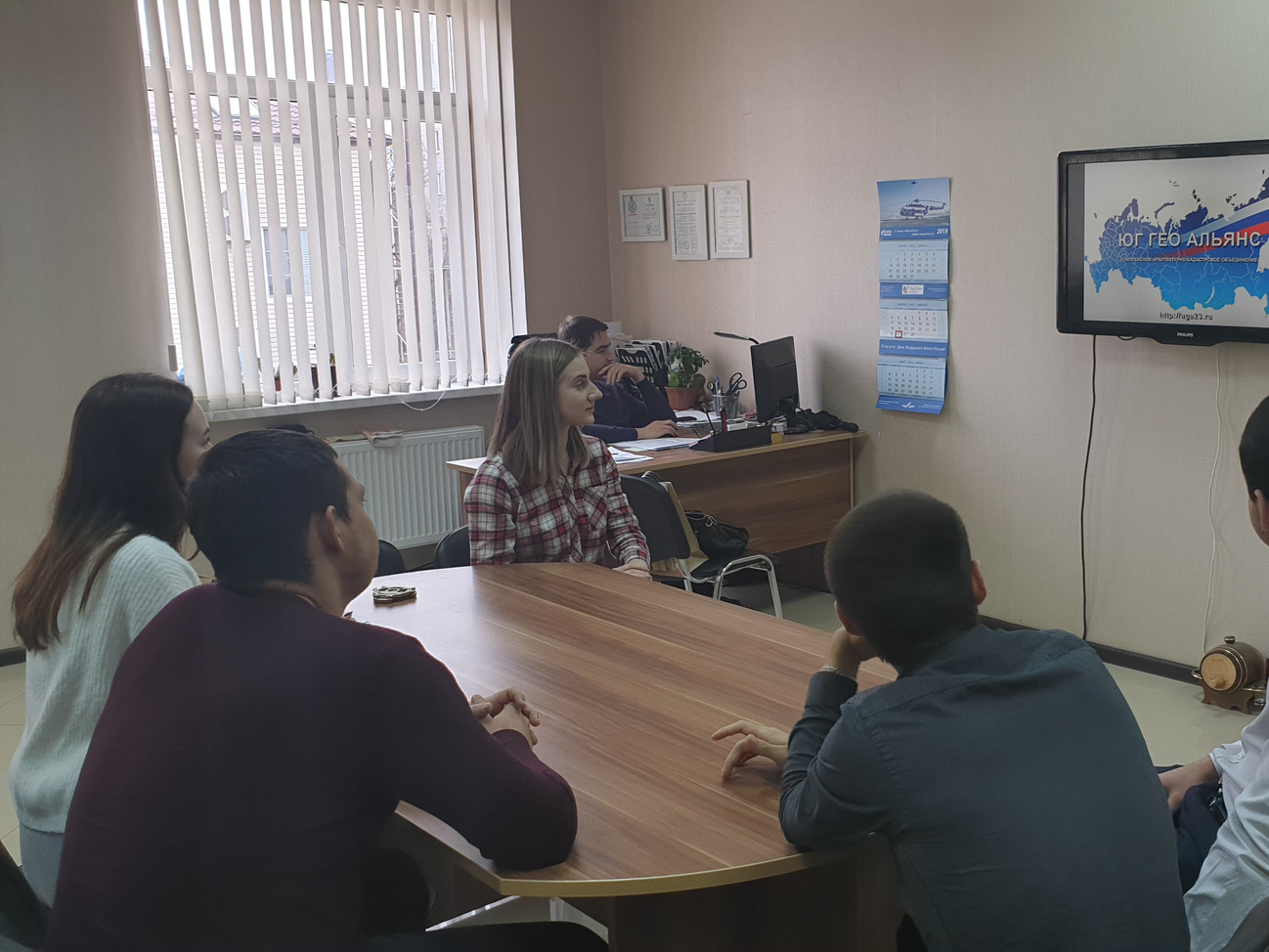 В рамках сотрудничества с КубГАУ, Комплексное объединение посетили студенты профильного курса