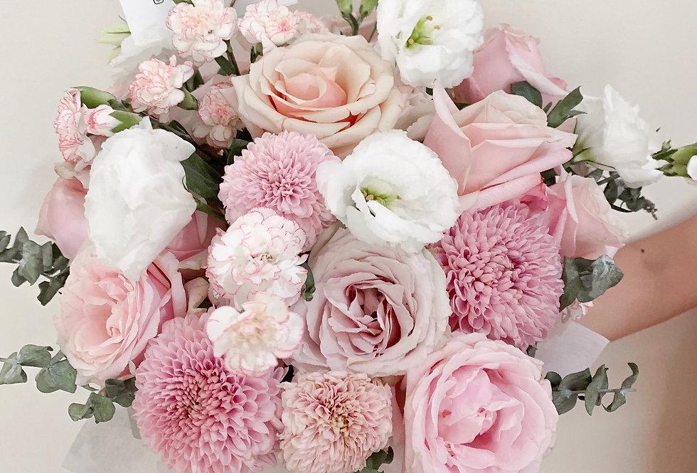 Pink Pastel Bloom Box | 1,000,000 IDR