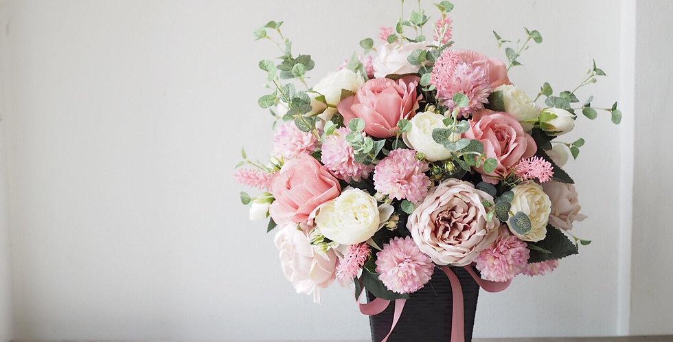 Artificial Vibrant Pink Arrangement | 800,000 IDR