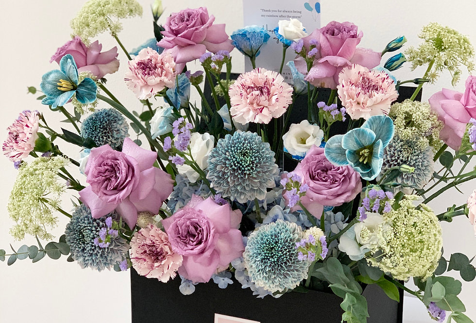 Bleu-Purple Fleur Treasure Chest | 150 AUD