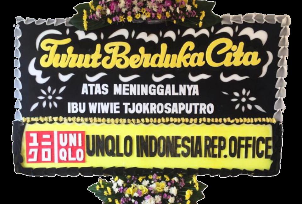 Customizable Flower Board Yellow-Black-Red | 450,000 IDR