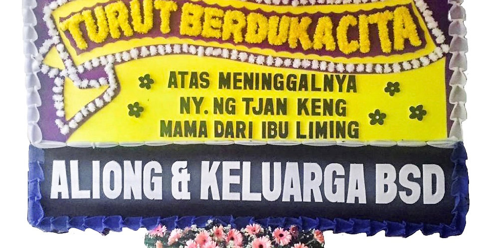 Customizable Flower Board Purple-Yellow   550,000 IDR