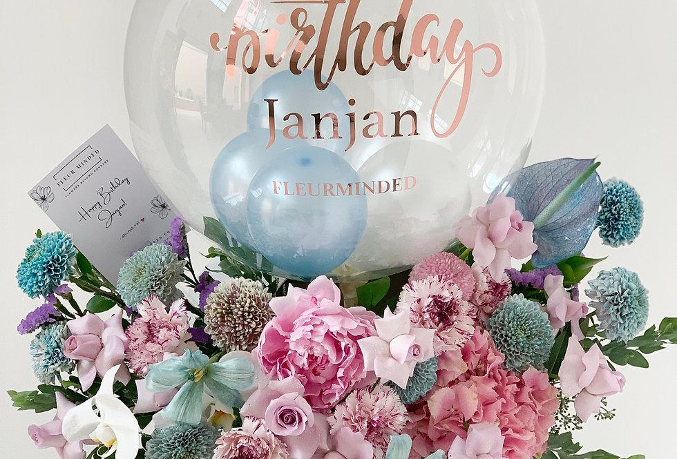 Bubblegum Balloon Bloom Box | 165 AUD
