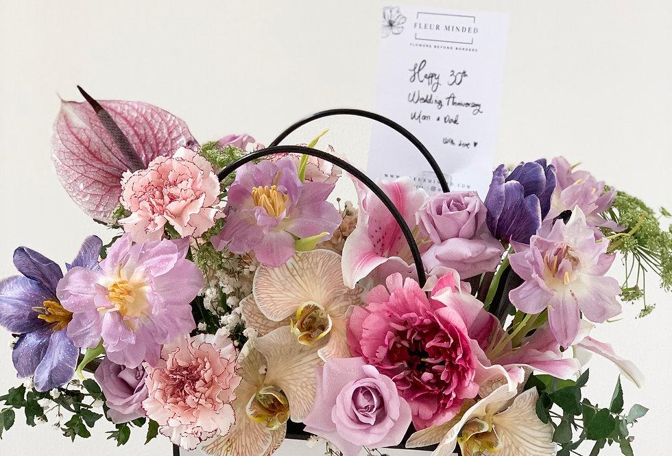 Euphoric Fleur Tote   99 AUD