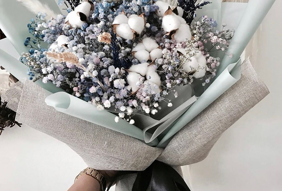 Medium Dried Fleur Bouquet | IDR 650,000