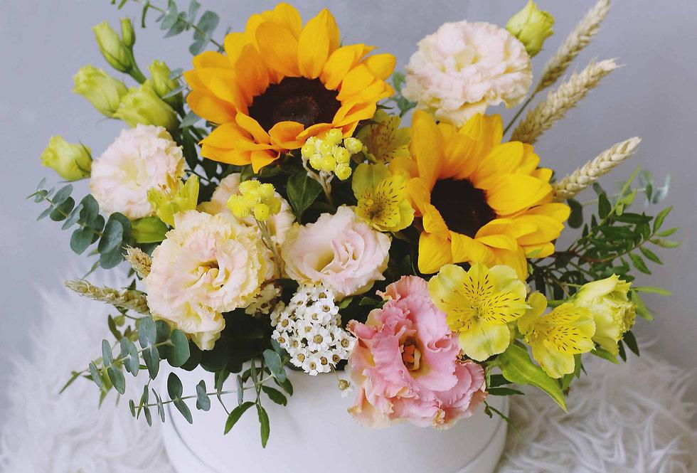 Boîte de fleur Sunflower | 100$