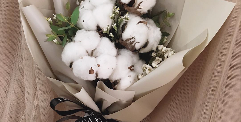 Cotton Flowers Bouquet | 42$