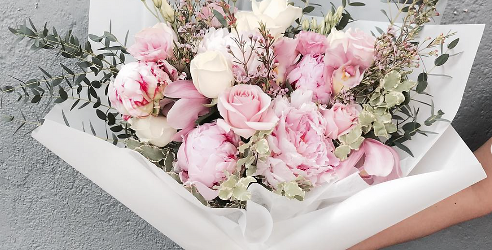 Peonies Bouquet (SEASONAL)   175 AUD