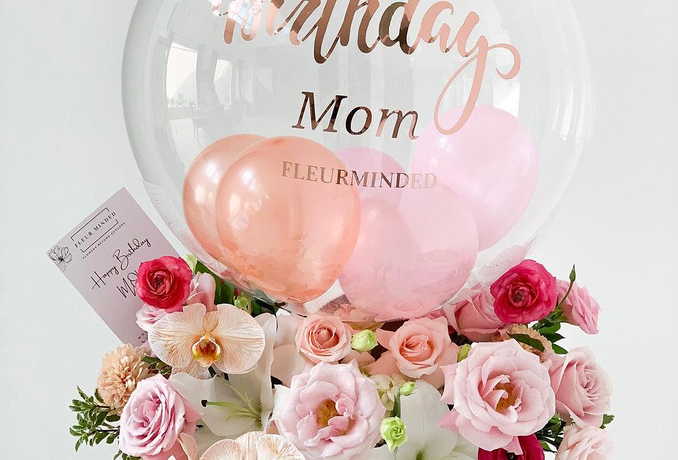 Festive Balloon Bloom Box | 150 AUD