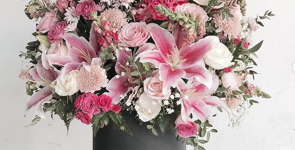 Festive Pink Bloom Box | 125 AUD