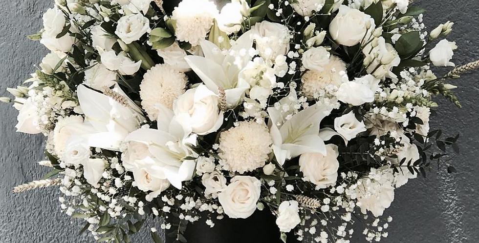 Classy Black x White Bloom Box | 180 AUD