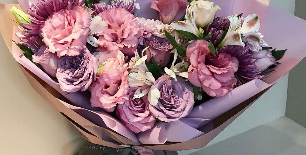 Purple Mood Bouquet | IDR 480,000
