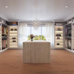 3D Luxury Walk in Closet