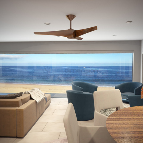 Interior Rendering CGI Visualization