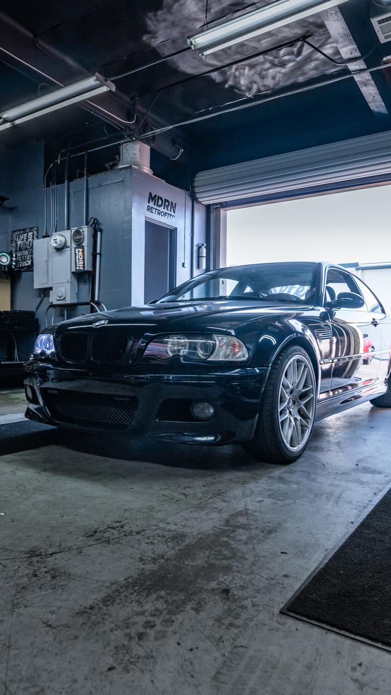 BMW E46 halo angel eye troubleshooting at MDRN Retrofits