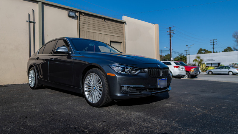 customers 3 seried BMW F30 with depo headlights and morimoto 2stroke leds installed at mdrn retrofits