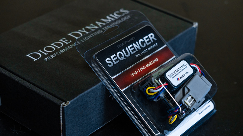 Diode Dynamics ford mustang sequencer at mdrn retrofits