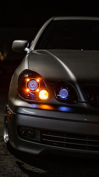 Switchback Lexus GS300/GS430 Elite S3 headlight retrofit by MDRN RETROFITS