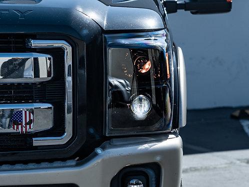 Ford F-250 F-350 Super Duty ELITE Headlights by MDRN Retrofit in Orange County, CA
