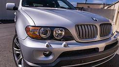 BMW X5 headlight restoration with ceramic coating service at MDRN retrofits