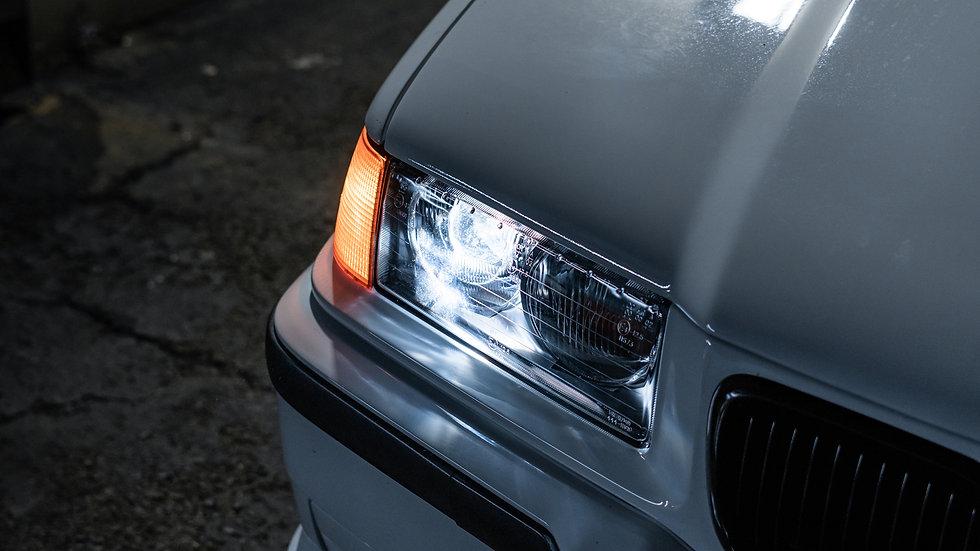 BMW E36 Ellipsoid Headlight Retrofit Pro Package at MDRN Retrofits