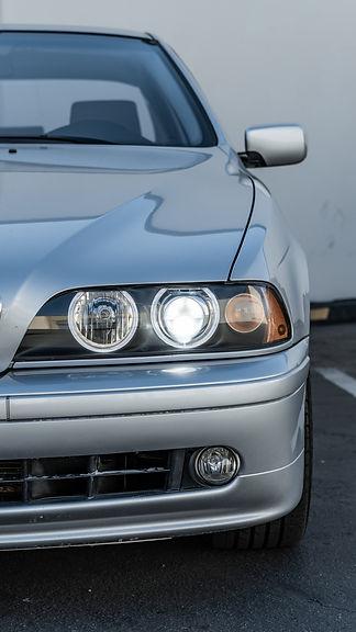 BMW E39 Headlight Restoration at MDRN Retrofits in Orange County