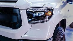 Morimoto toyota tundra xb led headlight installation at MDRN Retrofits