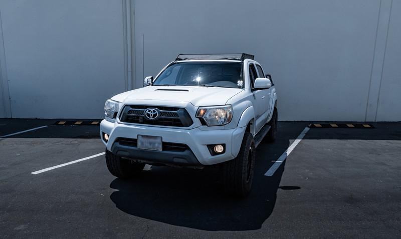 Toyota Tacoma LED Ditch Lights installed at MDRN Retrofits