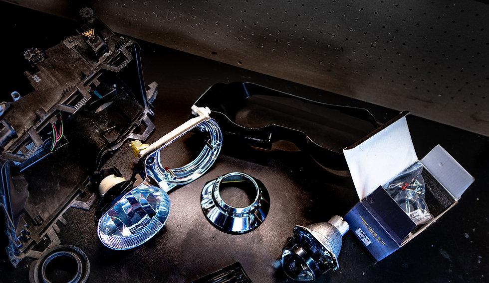 BMW E46 M3 Headlight Projector Retrofit at MDRN