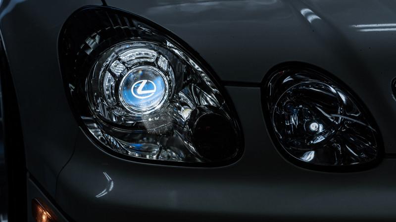 2002 Lexus GS300 OEM plus headlight retrofit by MDRN Retrofits