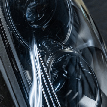 Porsche 981 Boxter Cayman Ceramic Coating Headlight Restoration at MDRN Retrofits in Orange County, CA