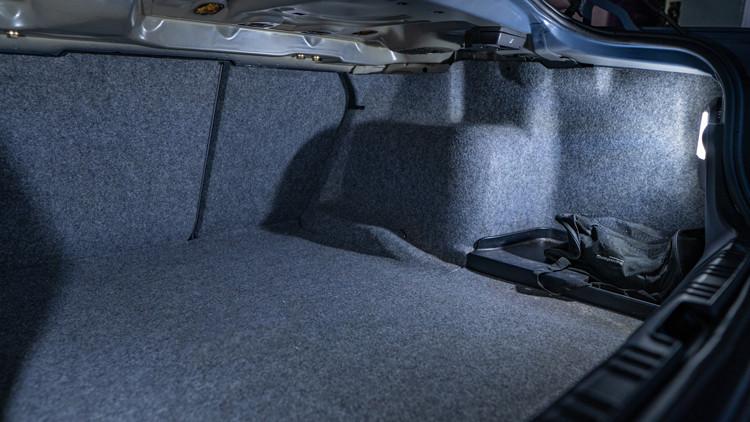 BMW E46 LED Trunk Lighting Installed at Modern MDRN Retrofits