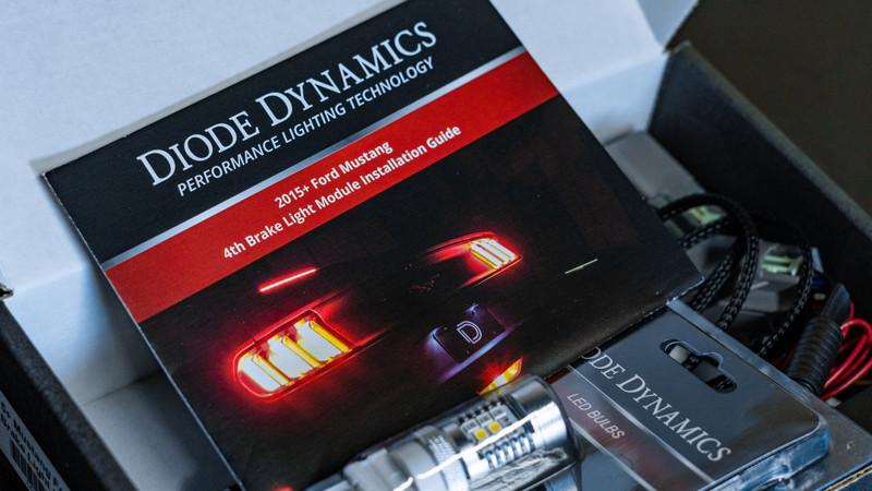 Diode Dynamics ford mustang 4th brake light at mdrn retrofits