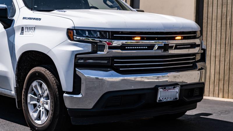 2020 Chevrolet Silverado Construction work truck at mdrn retrofits