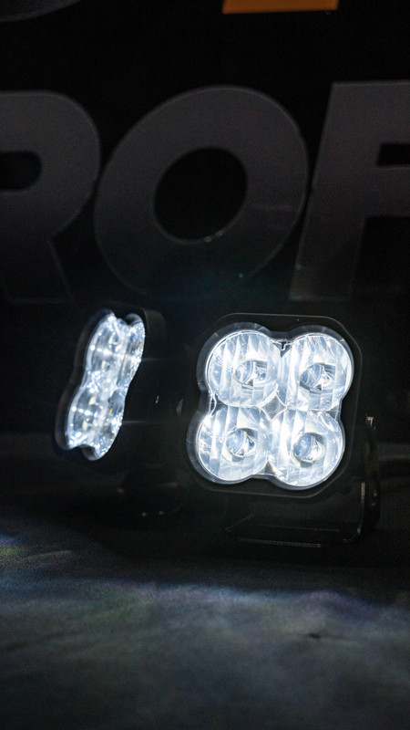 Diode Dynamics Sport SS3 LED Pods Driving Pattern from MDRN Retrofits
