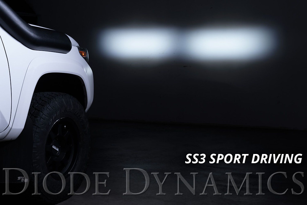 Diode Dynamics SS3 Sport LED Driving Ditch Lights Toyota Tacoma from MDRN Retrofits