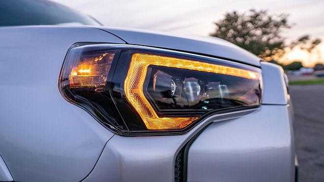 Toyota 4runner Morimoto XB LED Headlights Installed at MDRN Retrofits