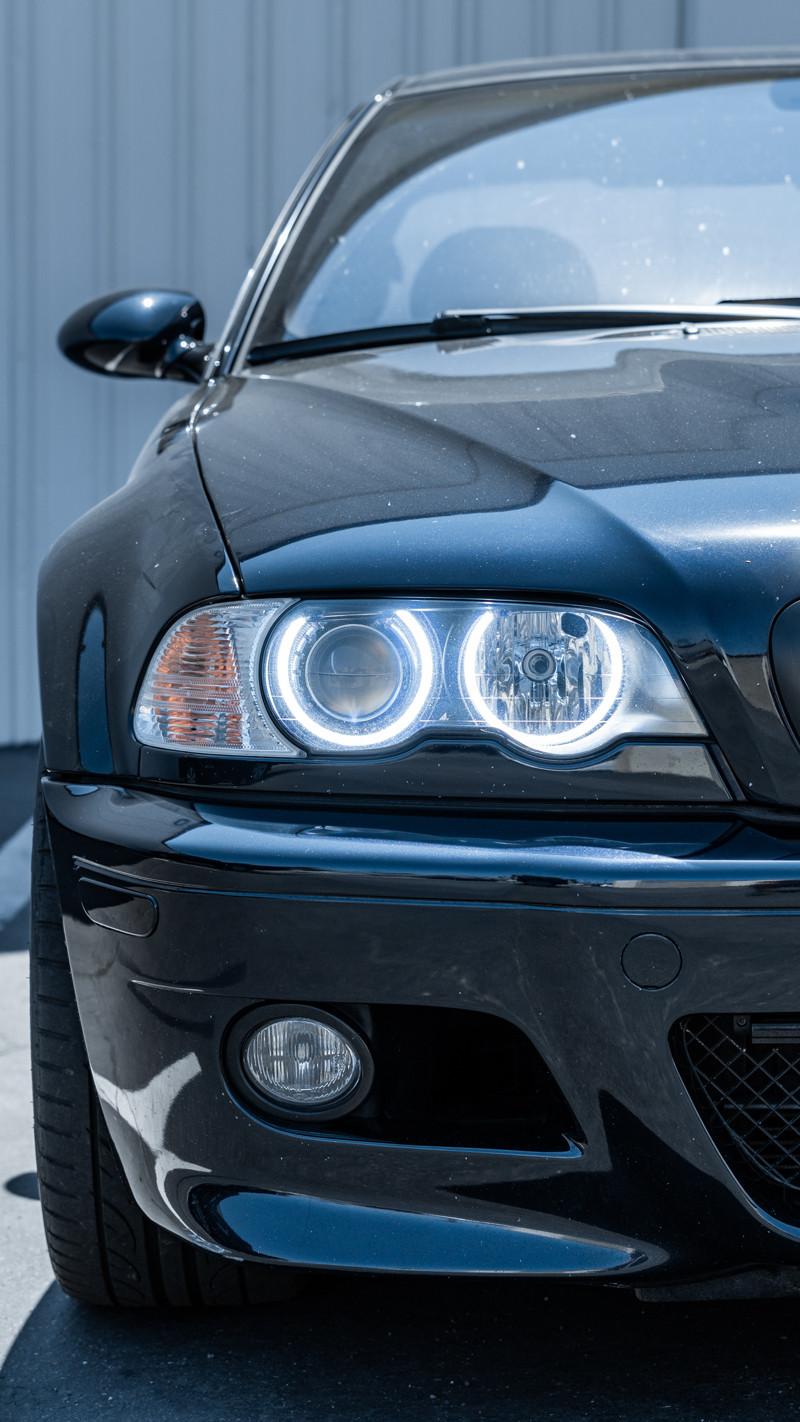 Orion V4 Halos installed on a BMW E46 M3 at MDRN Retrofits