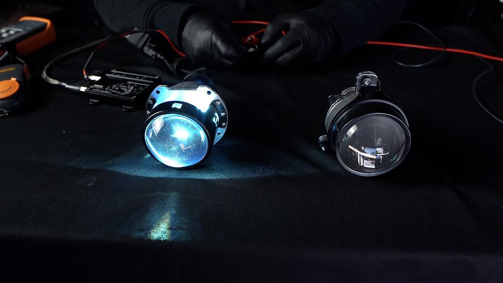 Morimoto Mini H1 8.0 Projector for Headlight Retrofit at MDRN Retrofits