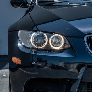 BMW E92 M3 Ceramic Coating Headlight Restoration at MDRN Retrofits in Orange County, CA