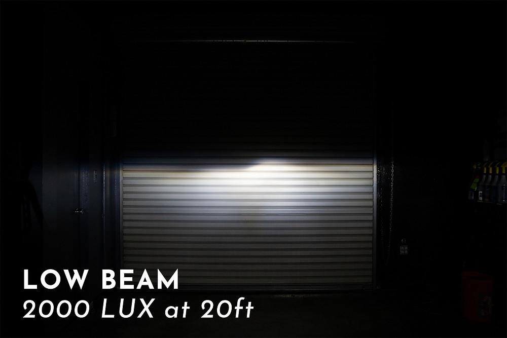BMW E36 with Pro Package Headlight Retrofit output shots at MDRN Retrofits