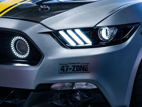 Former SEMA Show Mustang GT Gets More Lighting