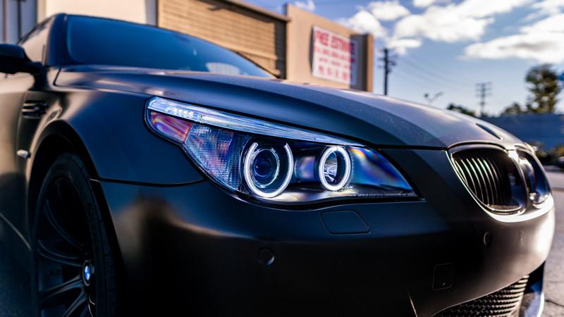 BMW E60 M5 Headlight Retrofit by MDRN retrofits