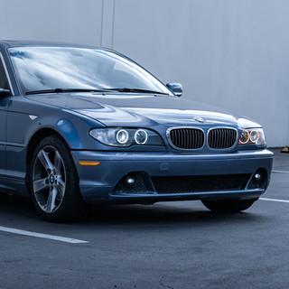 BMW E46 Switchback Angel Eyes Halos Profile Headlight Retrofit by MDRN Retrofits in Orange County, CA