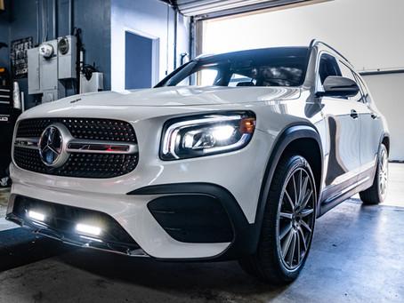 Mercedes GLB AMG Gets Light Bars Installed