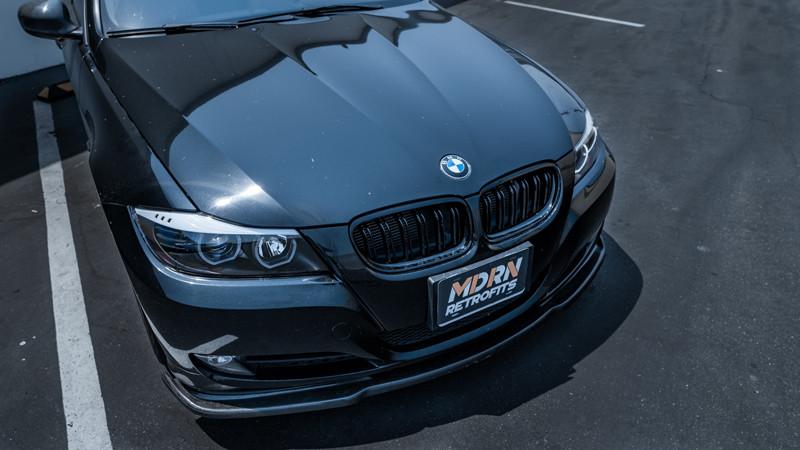 BMW E90 DTM Halo Headlights From MDRN Retrofits