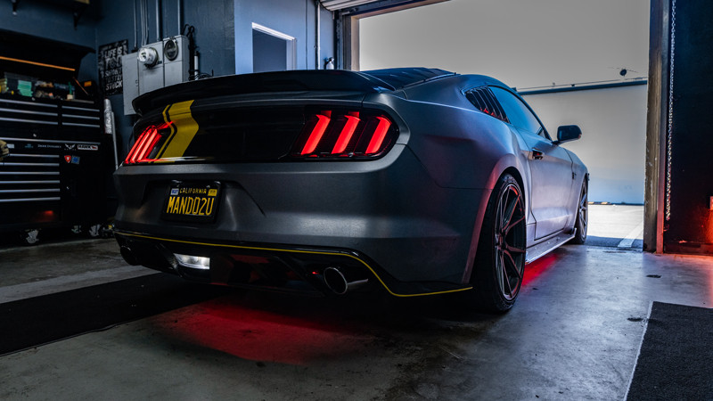 Diode Dynamics ford mustang 4th brake light in reverse at mdrn retrofits