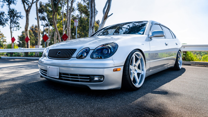 Lexus GS300 headlight retrofit by MDRN retrofits in Costa Mesa
