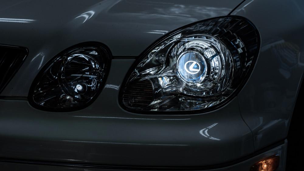 2GS Lexus GS300 Pro Package Headlight Retrofit at mdrn retrofits