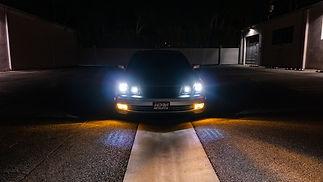 Quad projector Lexus GS300/GS430 Elite S3 headlight retrofit by MDRN RETROFITS